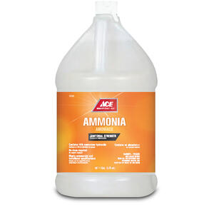 Ace  Clean Scent Ammonia  Liquid  1 gal.