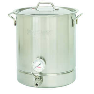 Bayou Classic  Home Brew Kettle  Stainless Steel  64 quarts qt.