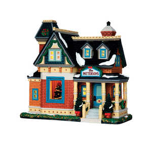 Lemax  Christmas At The Pattersons  Multicolored  Resin  1 each Village Building