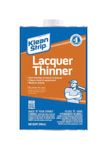 Klean Strip  Lacquer Thinner  1 qt.