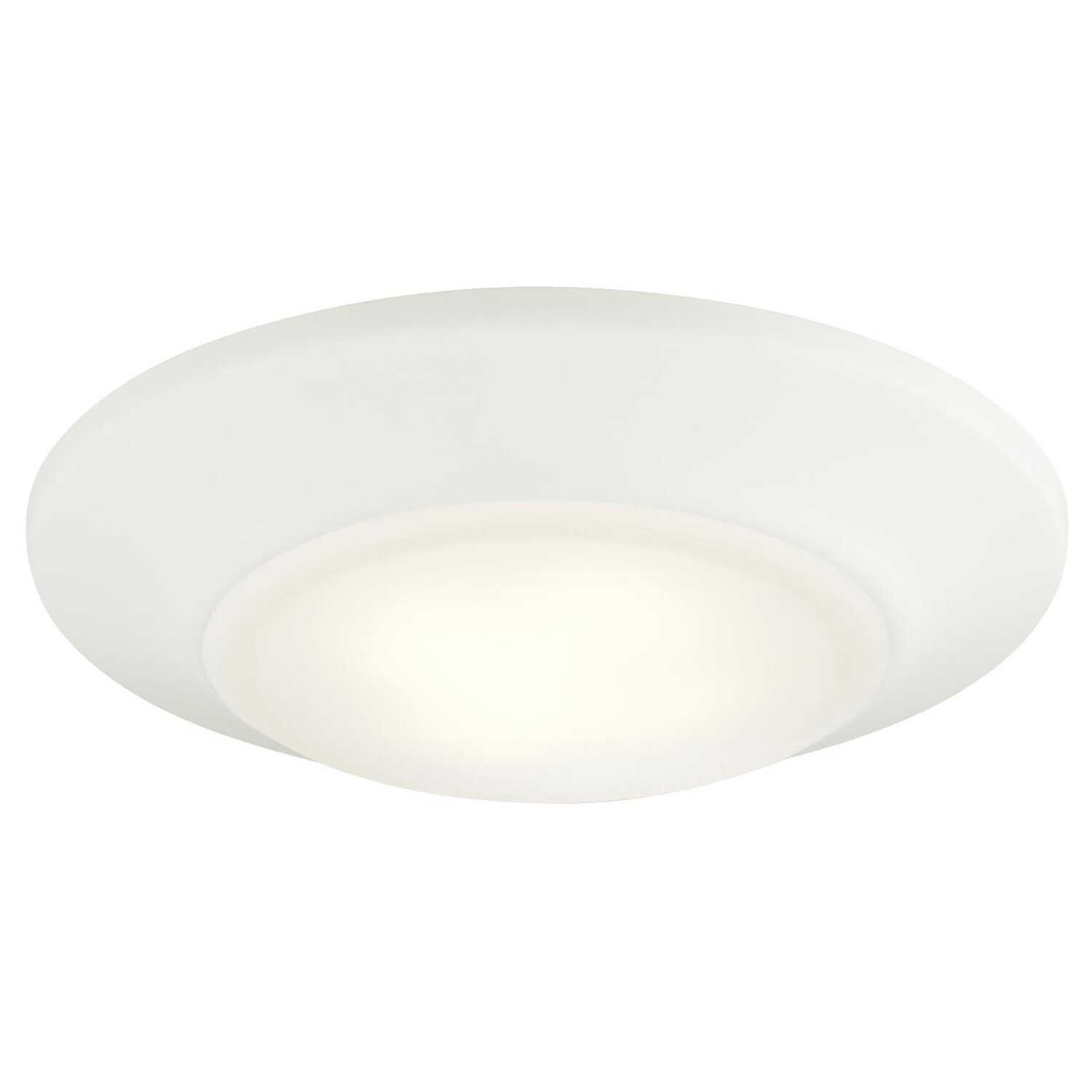 Westinghouse  White  3.875 in. W Steel  LED  Recessed Light Fixture  12 watts