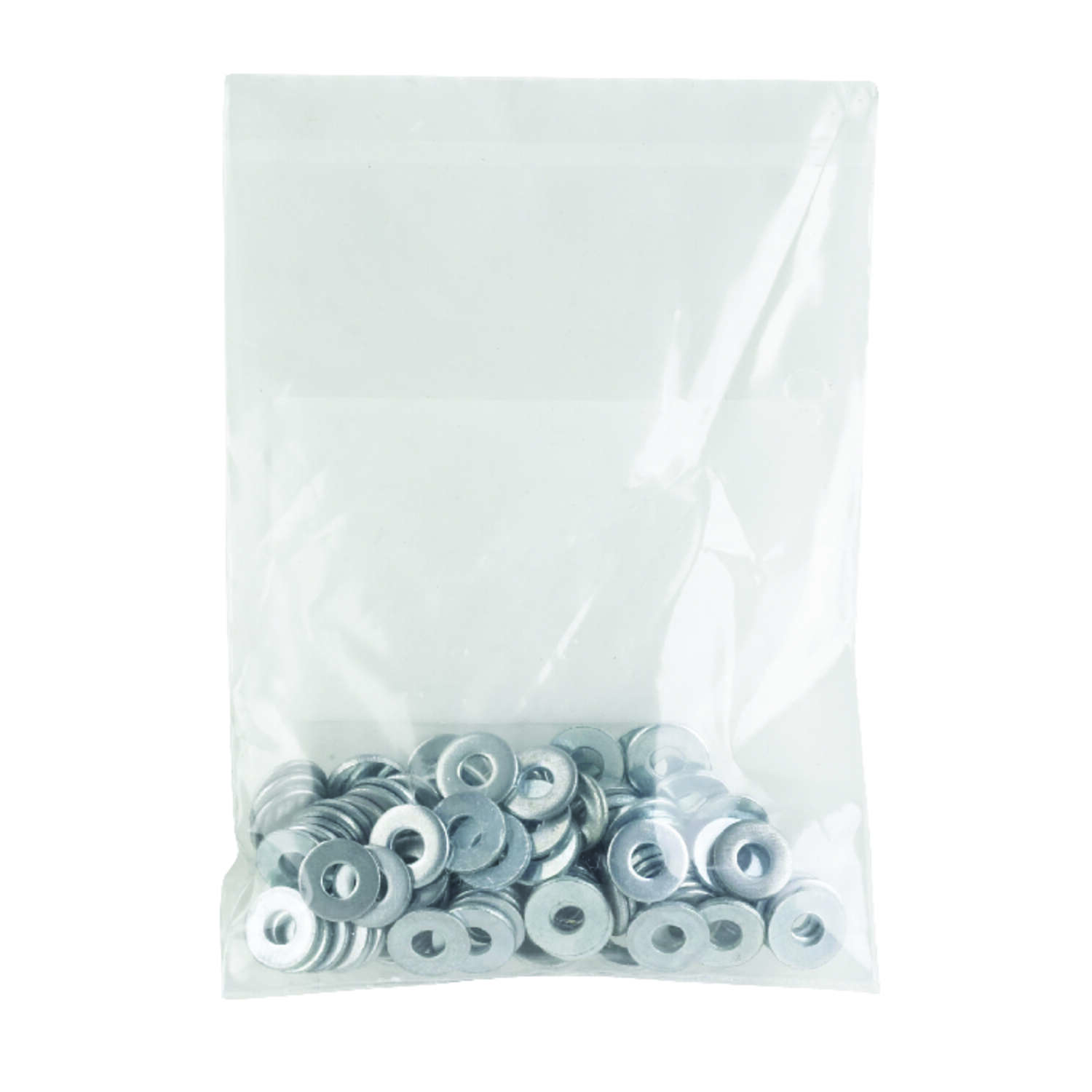 HILLMAN  Zinc-Plated  Steel  6 mm SAE Flat Washer  100 pk