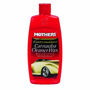 Mothers  California Gold  Liquid  Automobile Wax  For All Paints And Removes Oxidation 16 oz.