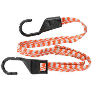 Keeper  Orange  Bungee Cord  10 in. L x 0.14 in.  1