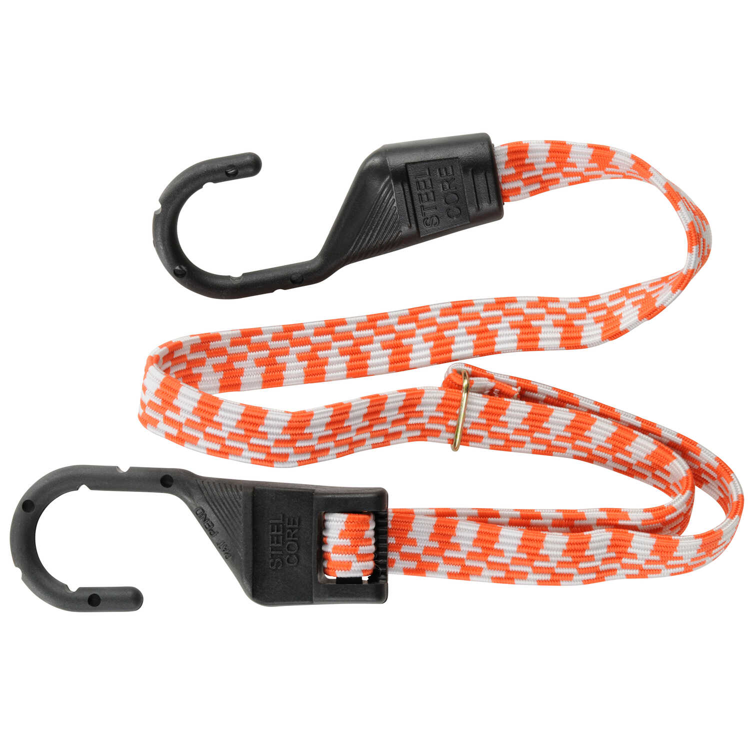 Keeper  Orange  Bungee Cord  10 in. L x 0.14 in.  1 pk