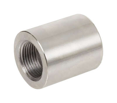 Smith-Cooper  1-1/4 in. FPT   x 1 in. Dia. FPT  Stainless Steel  Reducing Coupling