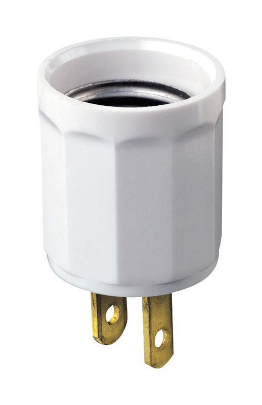 Leviton  Polarized  1  Adapter  1 pk Surge Protection