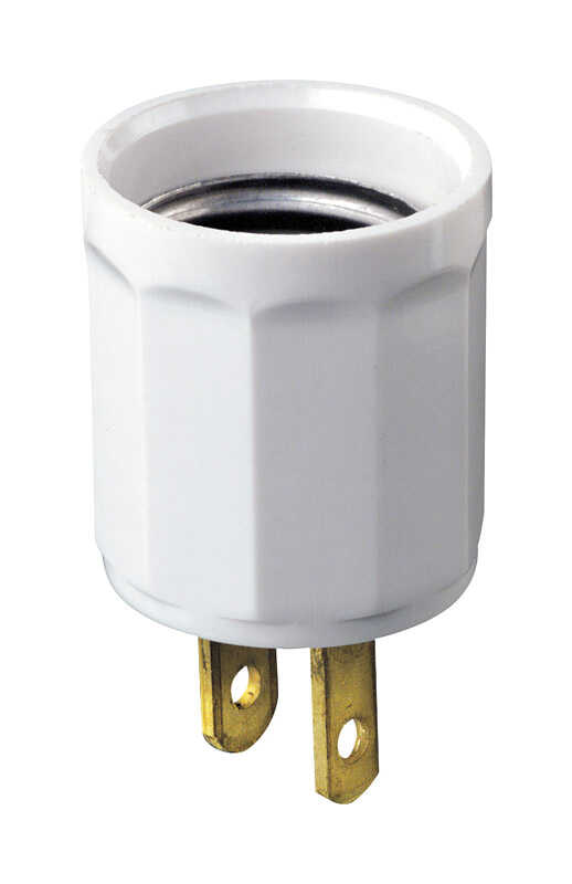 Leviton  Polarized  1 outlets Adapter  1 pk