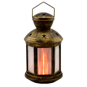 Shawshank  LEDz  LED  Plastic  Flameless Lantern  Assorted