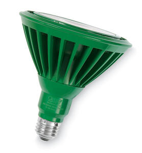 FEIT Electric  PAR38  E26 (Medium)  LED Bulb  Green  120 Watt Equivalence 1 pk