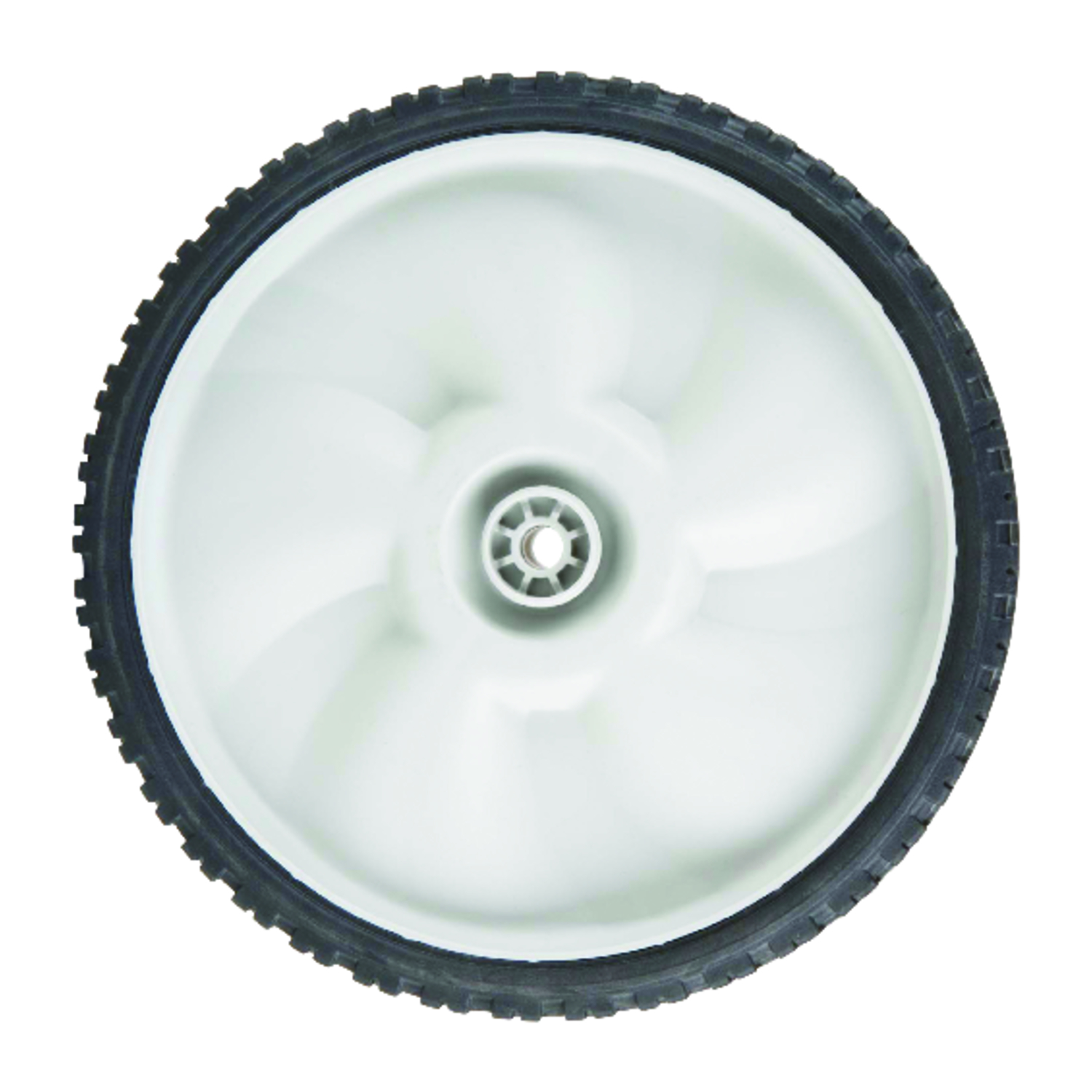 Arnold  11 in. Dia. x 1.75 in. W Plastic  Lawn Mower Replacement Wheel  60 lb.