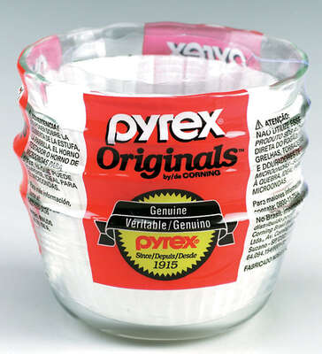 Pyrex  4 in. W x 4 in. L Custard Cups  Clear  4 pk