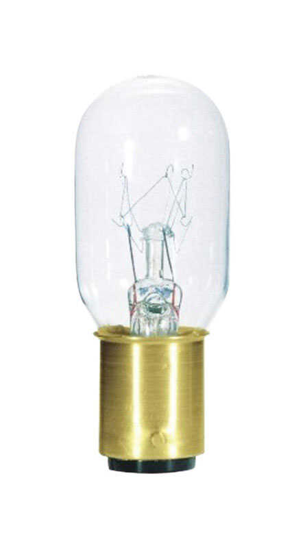 Westinghouse  15 watts T7  Incandescent Bulb  108 lumens Warm White  Speciality  1