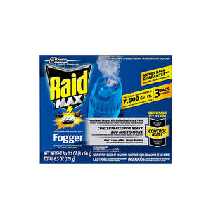 Raid Concentrated Deep Reach Fogger Fogs Cypermethrin 3