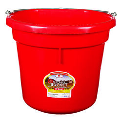 Little Giant  20 qt. Bucket  Red