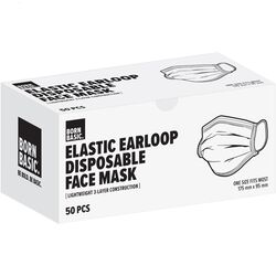 Born Basic  3-Ply  Disposable Face Mask  50 pk