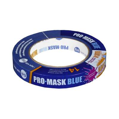 IPG Pro-Mask 0.70 in. W x 60 yd. L Blue Medium Strength Masking Tape 1 pk