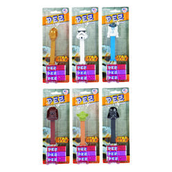 PEZ  Star Wars  Assorted Fruit Flavors  Candy and Dispenser  0.87 oz.