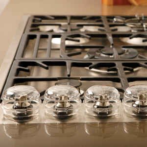 Dreambaby  Clear  Plastic  Stove Knob Covers  5 pk