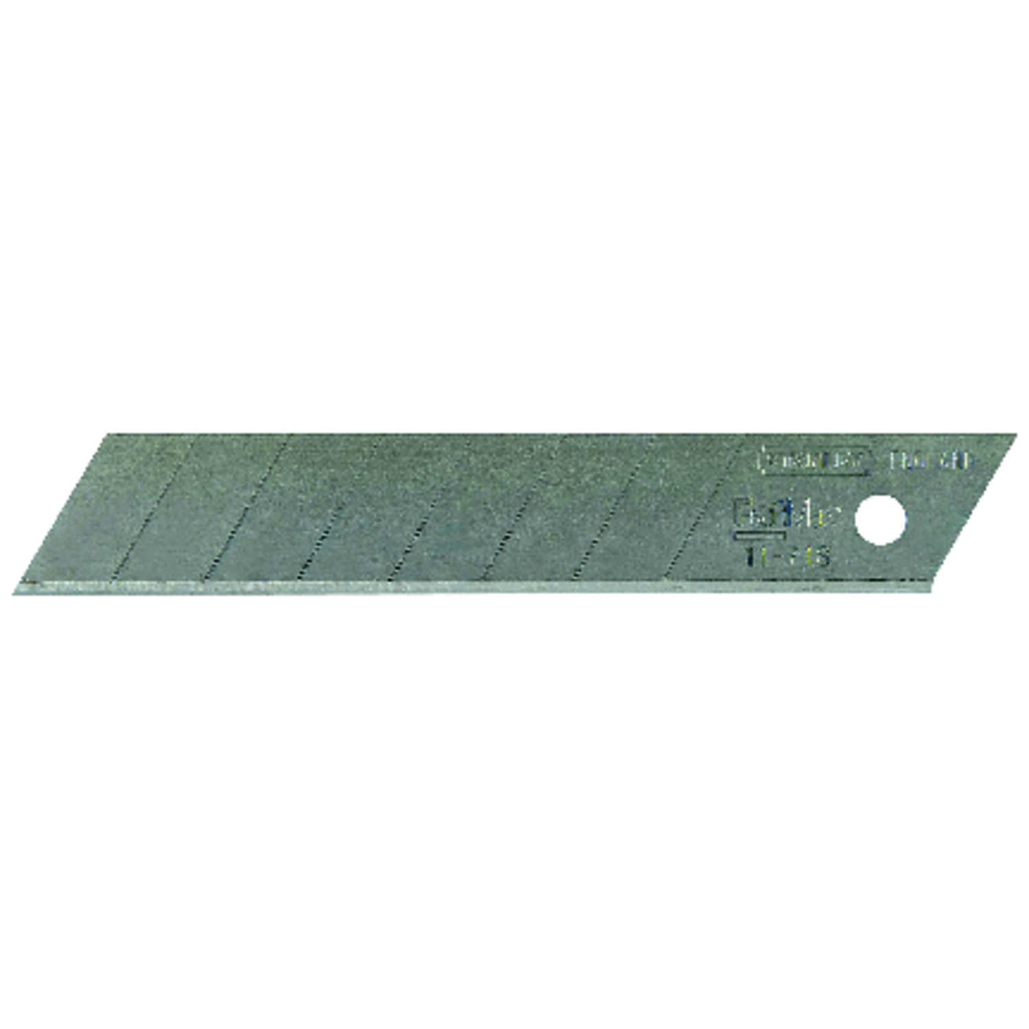 Stanley  FatMax  18 mm Steel  8 Point  Snap-Off  Replacement Blade  4-1/4 in. L 10 pk