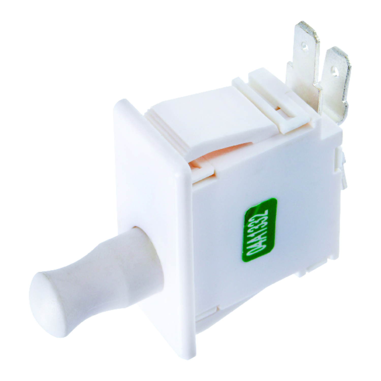 Jandorf  Momentary  Appliance Switch  White  1  12 amps