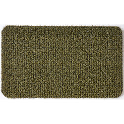 GrassWorx  Flair Medium  Urban Green  Polyethylene  Nonslip Door Mat  30 in. L x 18 in. W