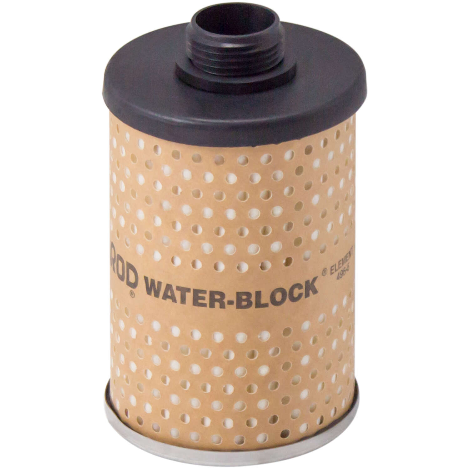 Goldenrod  Plastic  Water Block Fuel Filter  25