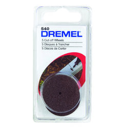 Dremel  1-1/4 in. Dia. x 1/8 in.  Metal  Cut-Off Wheel  5 pk