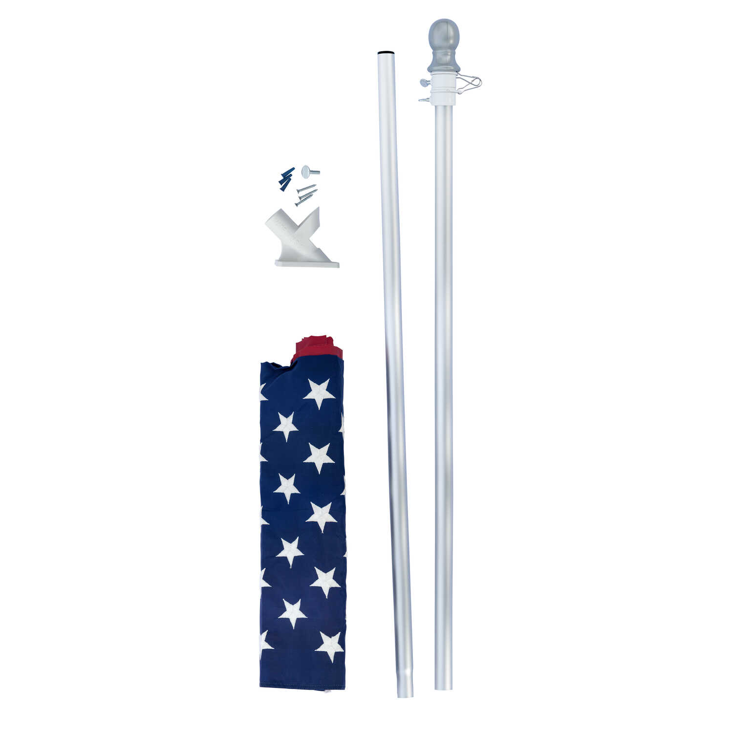 Valley Forge  American  Flag Kit  36 in. H x 60 in. W