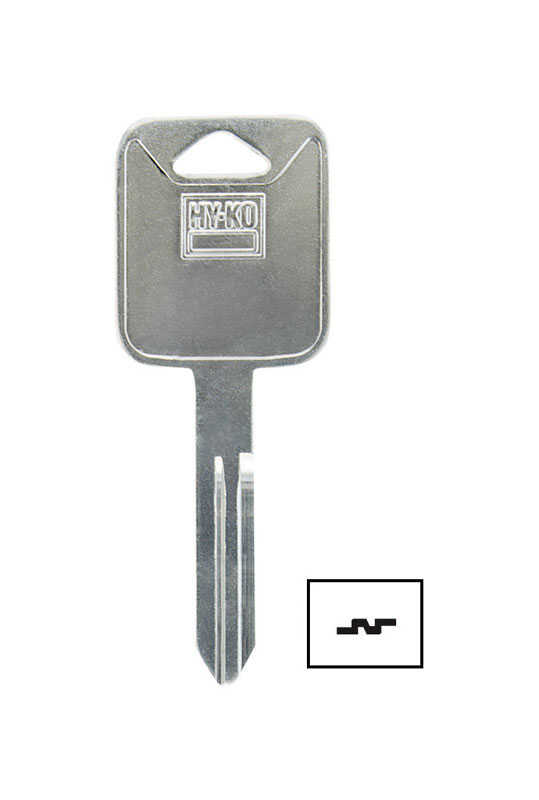 Hy-Ko  Automotive  Key Blank  Double sided For For Nissan