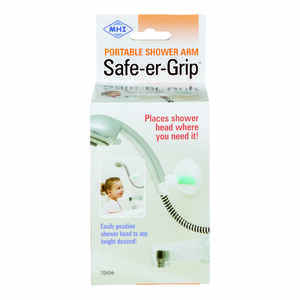 Safe-Er-Grip  White  Shower Arm