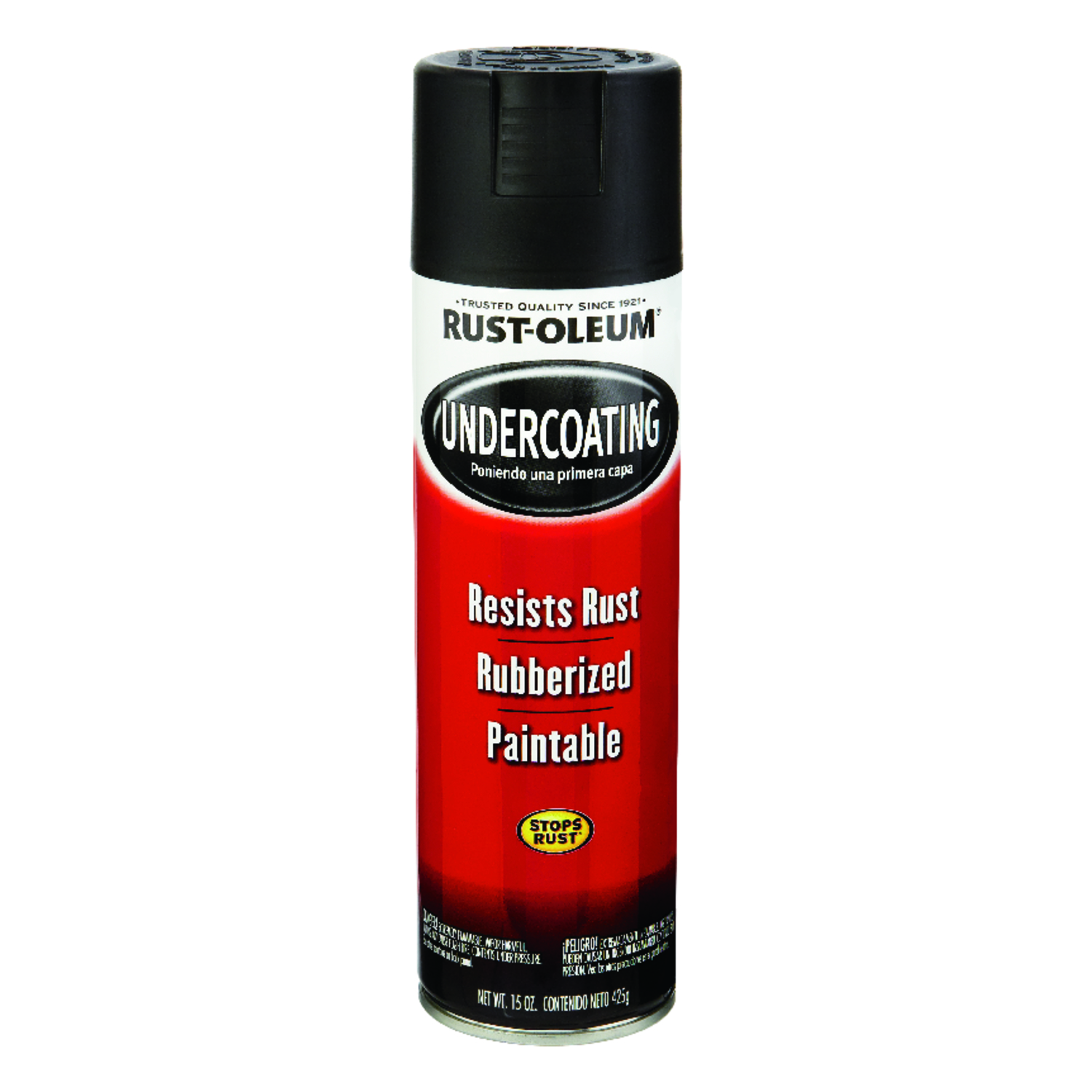 Rust-Oleum  Black  Undercoating  15 oz.
