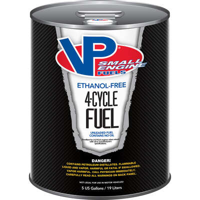 VP Racing Fuels  Small Engine Fuels & Lubricants  Gasoline  4-Cycle Fuel  5 gal.