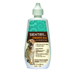 Sentry  Dog  Ear Miticide  3 oz.