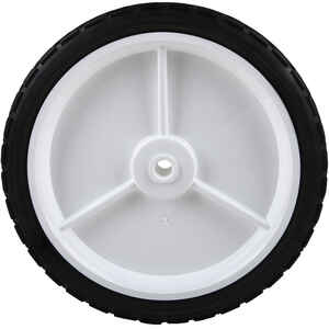 Arnold  1.75 in. W x 10 in. Dia. Plastic  Lawn Mower Replacement Wheel  80 lb.