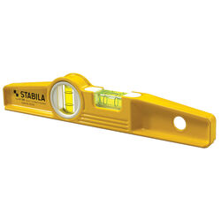 Stabila 10 in. Aluminum Magnetic Type 81 SM Torpedo Level 2 vial