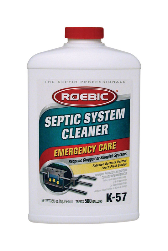 Roebic  K-57  Liquid  Septic System Cleaner  32 oz