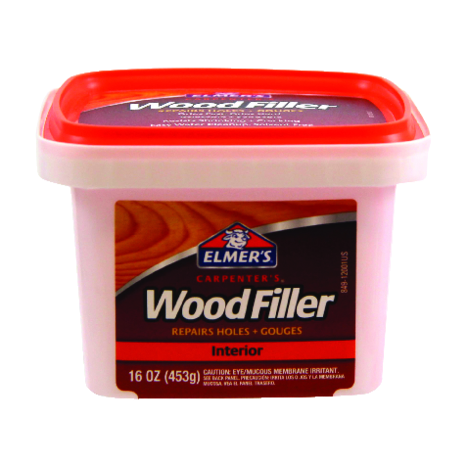 Elmer's  Carpenter's  Light Brown  Wood Filler  16 oz.