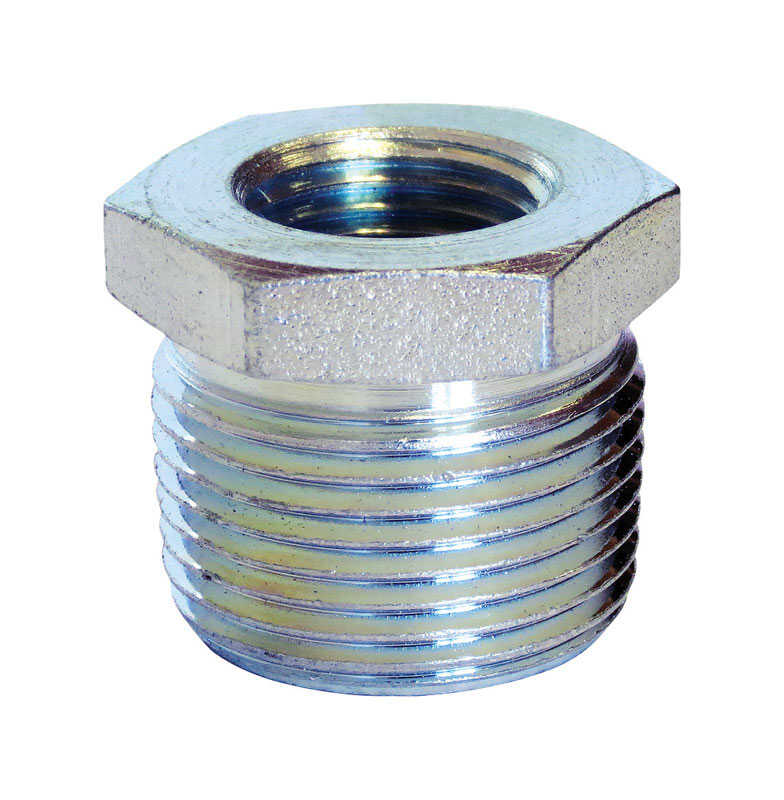 Anvil  3/4 in. MPT   x 1/4 in. Dia. FPT  Galvanized  Steel  Hex Bushing
