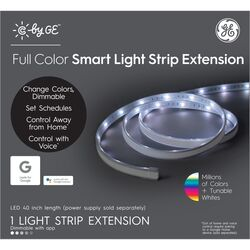 C by GE  40 in. L Color Changing  Plug-In  LED  Smart Light Strip  1 pk