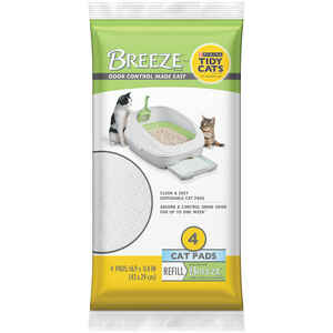 Breeze  Fresh and Clean Scent Cat Litter Pellets  3.5 lb.