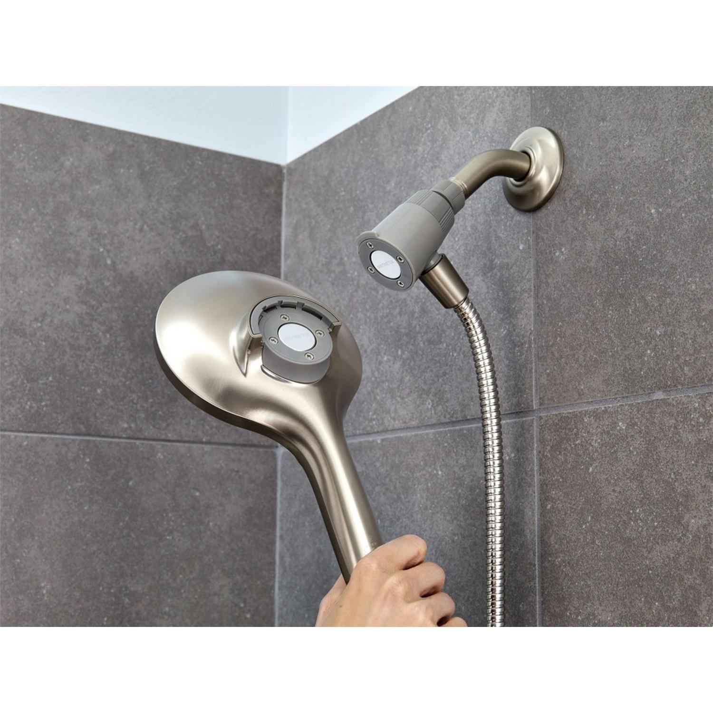 Moen Engage Brushed Nickel 6 Settings Handheld Showerhead 2