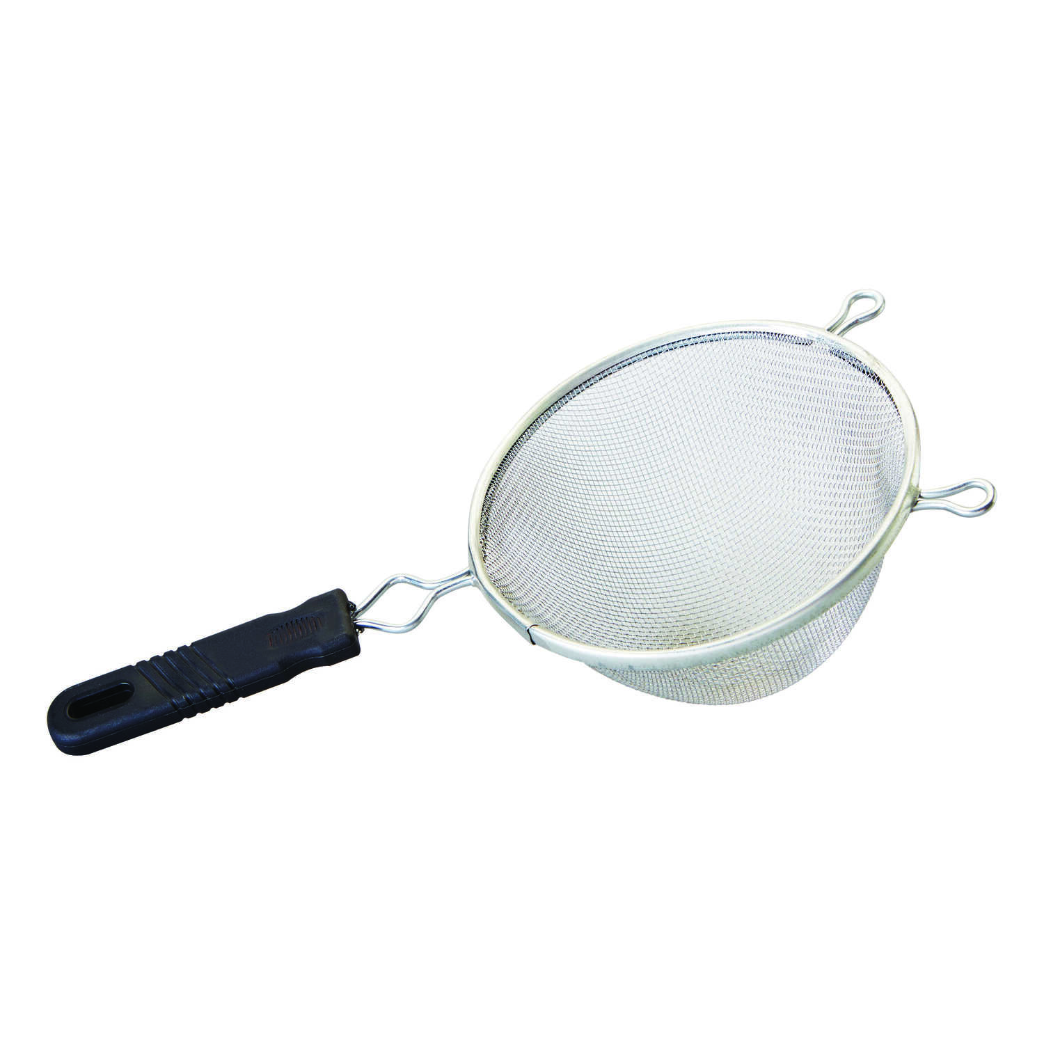 Good Cook  6 in. L Silver/Black  Mesh Strainer