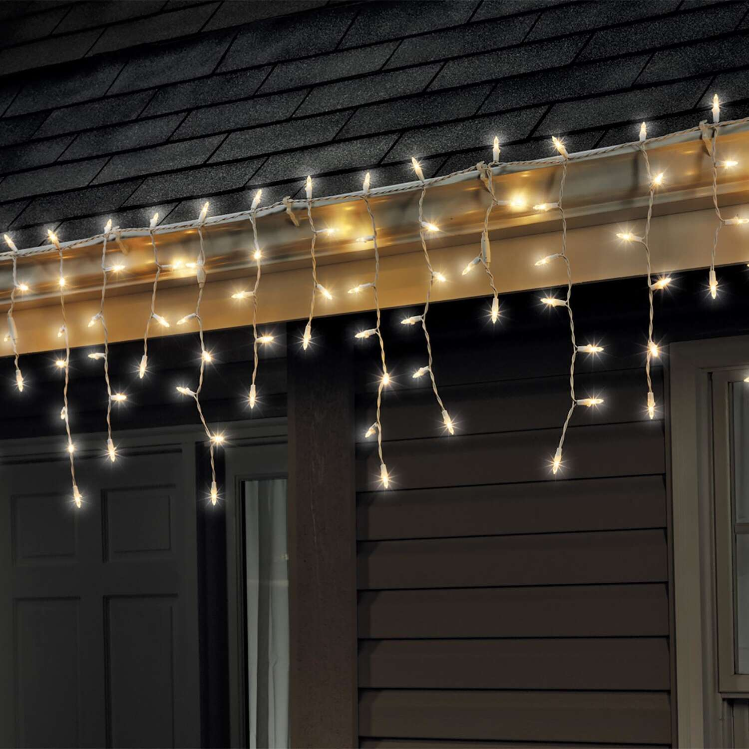 Celebrations  LED Mini  Warm White  100 count Light Set  6 ft.