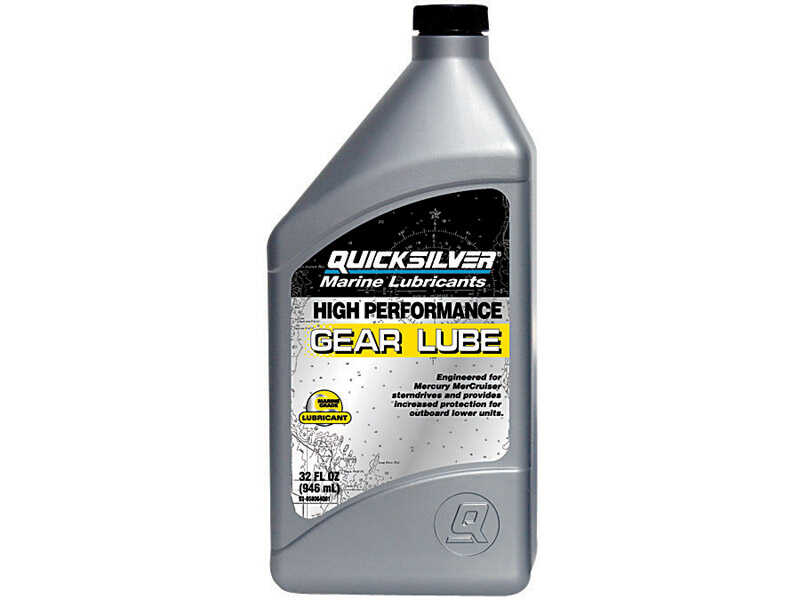 Quicksilver  Synthetic  Marine Lower Unit Gear Oil  32 oz.