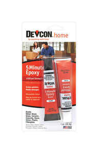 Devcon Home  5 Minute  High Strength  Epoxy  1 oz.