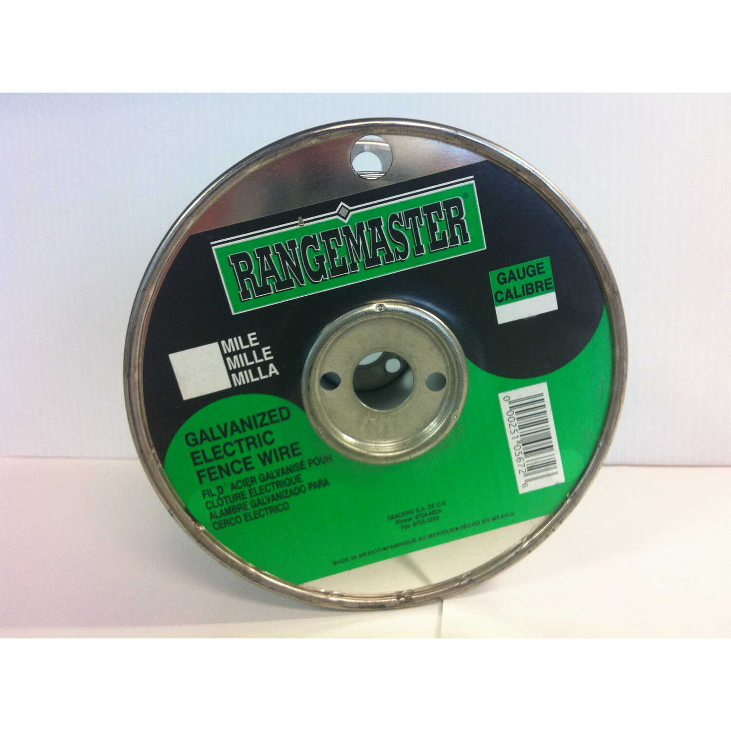 Rangemaster  13 in. H x 1320 ft. L Steel  Electric Fence Wire