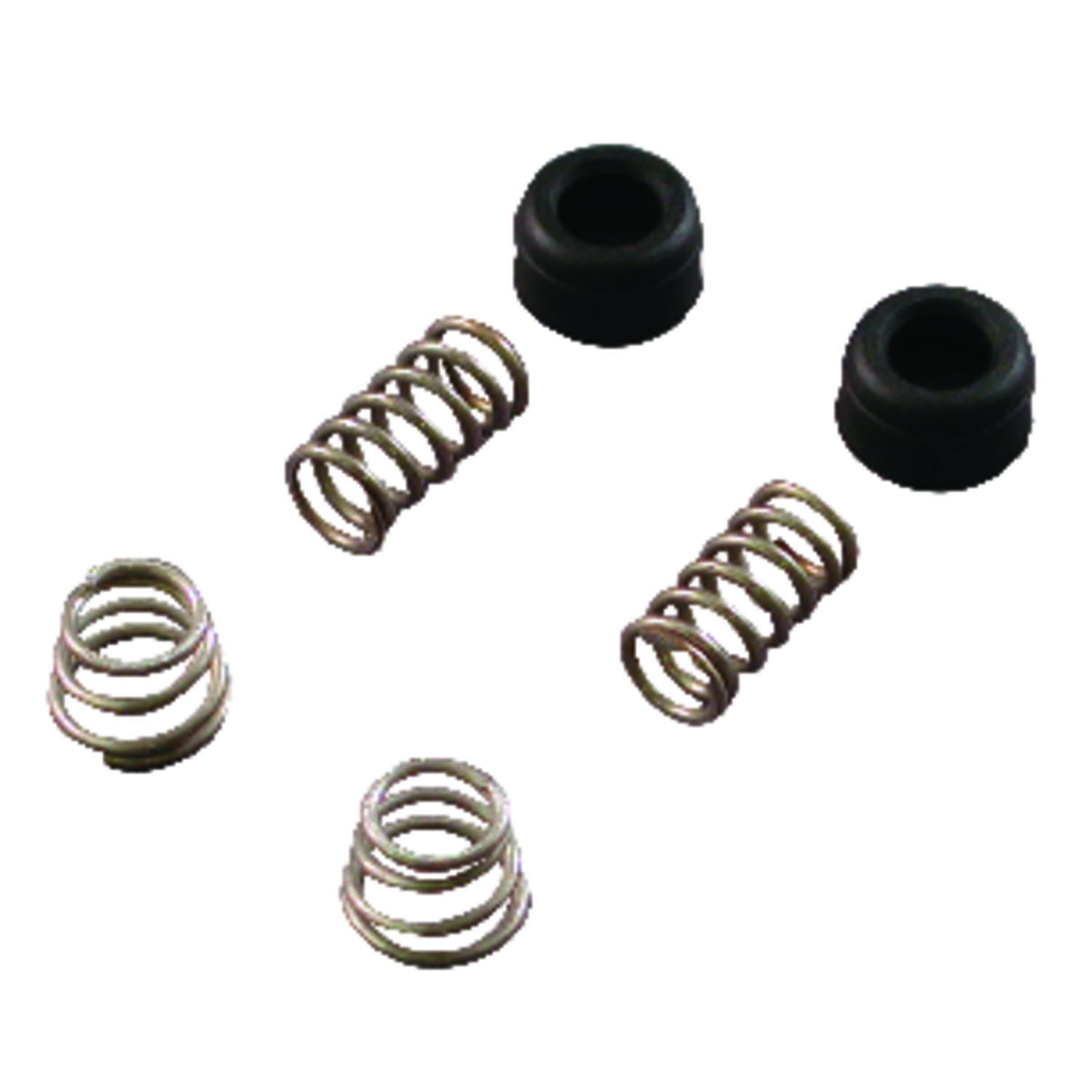 Ace  1/2-24 in. DL17  Rubber / Stainless Steel  Faucet Seats and Springs Kit  Delta  1 pk