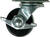 Shepherd  2 in. Dia. Swivel Hard Rubber  Caster  125 lb. 1 pk