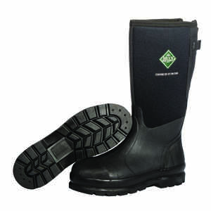 The Original Muck Boot Company  Chore XF  Men's  Rubber/Steel  Classic  Boots  Black  10 US  Waterpr